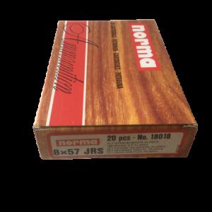 Jagtmunition Norma im Kaliber 8x57JRS Alaska 196 gr in 20 Schuss Verpackung