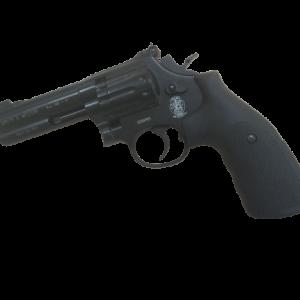 "Smith&Wesson Modell 586 4"" CO2 Revolver in schwarz"