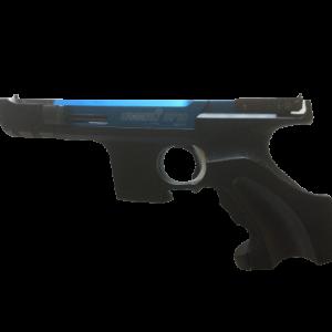 Hämmerli Sportpistole Sp20, Kal. 22LR mit blau eloxiertem Verschlussgehäuse