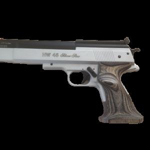 Weihrauch Luftpistole HW45 Silver