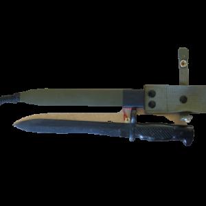 Bajonett für den spanischen Karabiner FR8 La Coruna