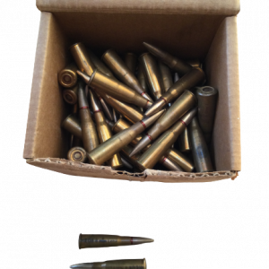 97 Militärpatronen im Kaliber 8x50 R Lebe